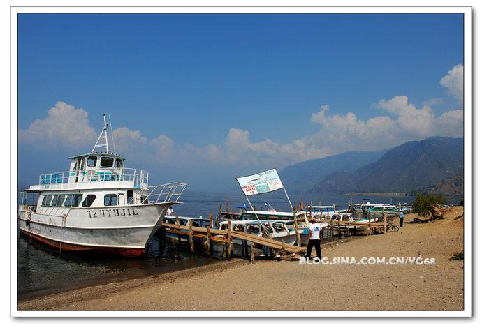 中美洲最美的火山湖-亚特兰火山湖 - Y哥。尘缘 - 心的漂泊-Y哥37国行