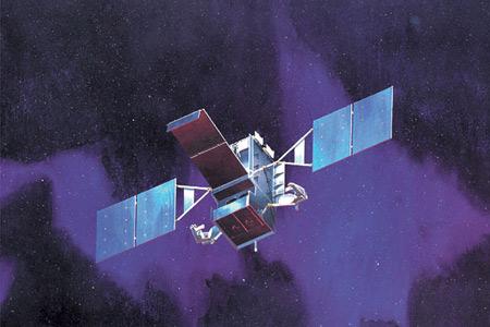 """2006年1月18日,洛·马公司完成了""""天基红外系统""""(SBIRS)高轨道卫星计划中首颗卫星的有效载荷的热真空试验。"""