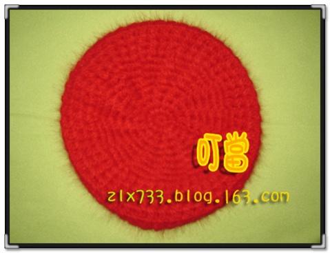 [钩针编织兔毛线红帽] - 叮当 - 叮当的博客