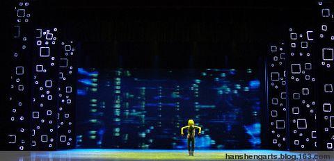 新媒体舞蹈诗《文明-图腾》 - 浴日御风 - 韩生的舞台艺术空间