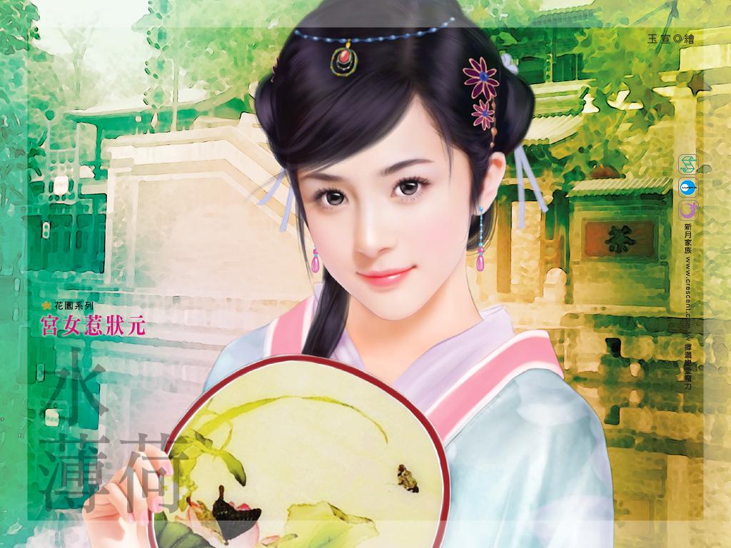【音画素材】中国古典古装美女素材图片