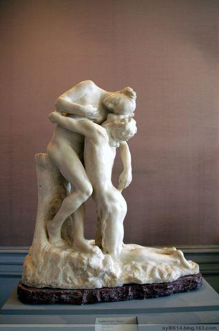 艺术作品欣赏--罗丹雕塑 - 云鹤 - 碧云轩主