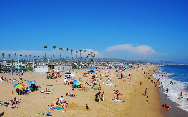 加州阳光(八)___看海 - 西樱 - 走马观景