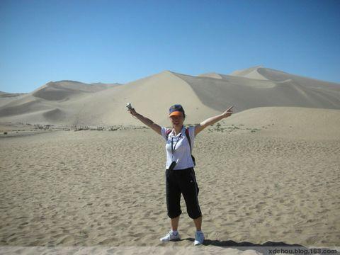 调侃黄沙,笑声撒向塞外蛮荒 - 卓三 - 卓三的博客