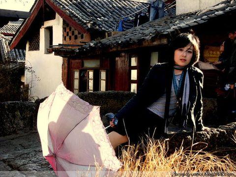 旅游连续剧第三集----古城与美女写真 - 蓝魔大叔 - 悲情的蓝魔