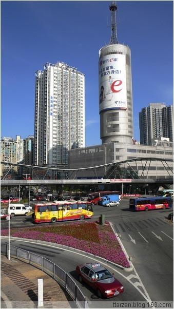[原]深圳·南山·立交桥上 - Tarzan - 走过大地