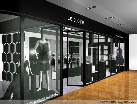 服装店橱窗设计灵感来源三要素 - 327764485 - forever love图片