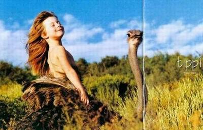 组图:法国小女孩的非洲野生丛林写真 - 牧笛 - 牧笛 圖文藝術沙龍