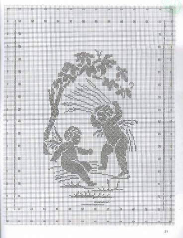 【转载】钩针编织-----挂饰 - 伊抹錵落 - 北方伊人