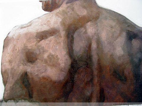 【引用】陈逸飞、杨飞云等中国写实画派作品(局部) - 板凳 - 板凳艺术长廊