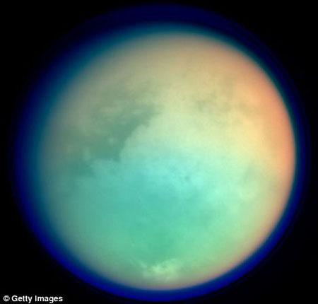 美宇航局:土星卫星有可能取代地球(组图) - 周纤 - 老有所乐老有所进