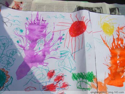 幼儿绘画作品欣赏