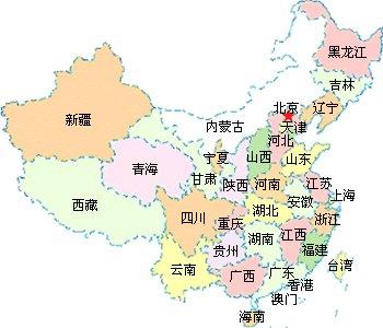中国七大军区划分地图和详细介绍