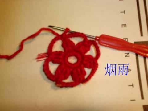 [转] 韩版6角花衣---烟雨姐教程 - xsq20030227 - xsq20030227的博客