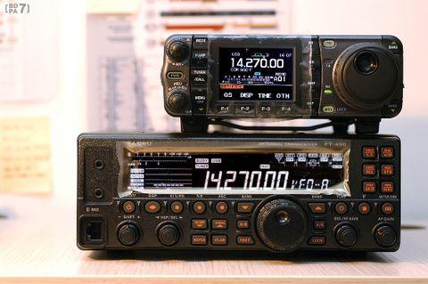 YAESU FT-450 通信实测视频:放出 - BD7PA - BD7PAのアマチュア無線の専門誌
