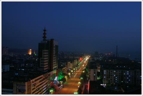 汉江之滨不夜城 - 老焉 - 老焉的博客