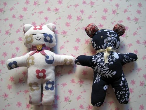 小妻布艺手做----我的第一个小玩偶 - 开心如意 - 开心如意的博客