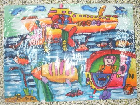幻想画海底世界图片图片 画海底世界各种鱼图片,画海底世界高清图片