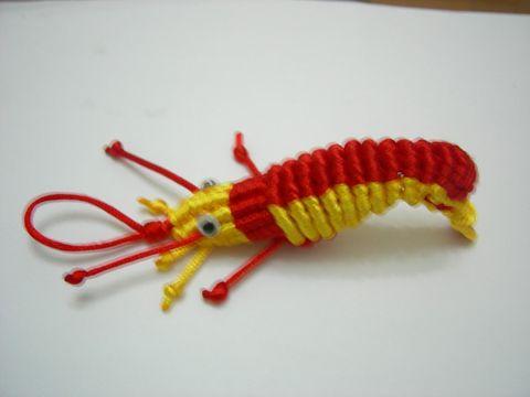 学会手工编织龙虾 - 淡静如水 - 淡静如水