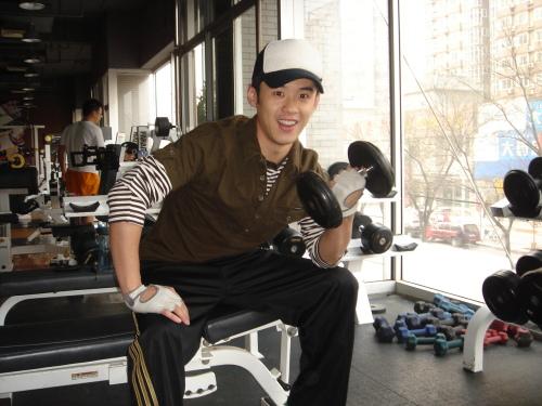 """健身房展示""""完美身材""""! - 高昊 - 高昊 的博客"""