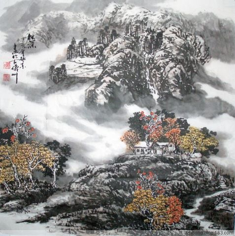 (原创)秋  深 - 陇山渭水 - 陇山渭水