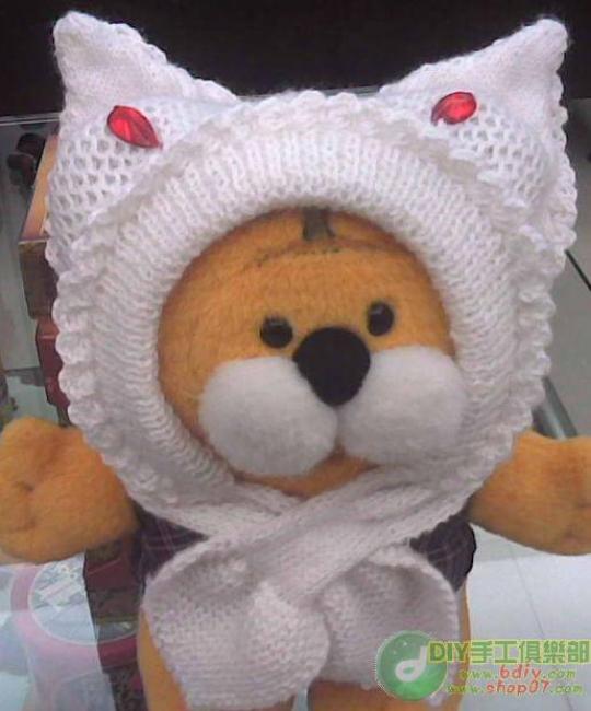 漂亮的小白兔帽子 - 梅兰竹菊 - 梅兰竹菊的博客