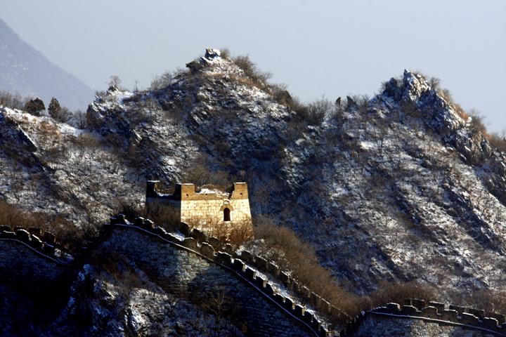 (原创摄影)箭扣长城冬日之六 - 刘炜大老虎 - liuwei77997的博客