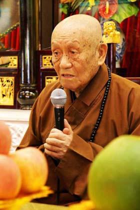 梦老在香港西方寺三坛大戒开示 - 梦参老和尚 - 梦参老和尚的博客
