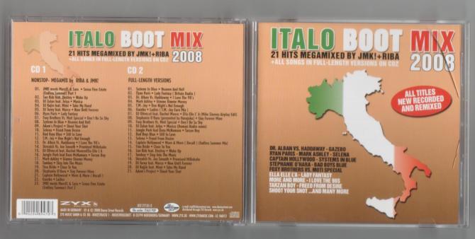 Italo Boot Mix 2008 - 意大利铁匠 - 分享劲爽节奏--XINBO21