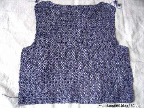 08年04月16日  菠萝花边钩衫——喜欢的一起来  紫绢  绿绢(完工两件) - wenxiang096 - 闻香的博客