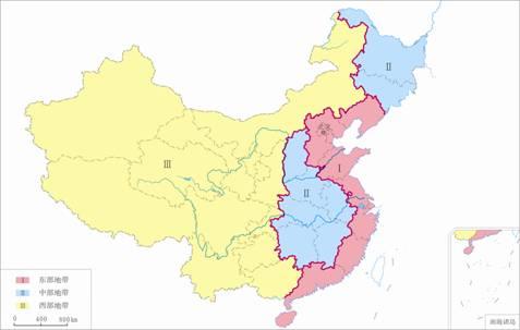 中国地理区域的划分 - 冰雨 - 冰雨