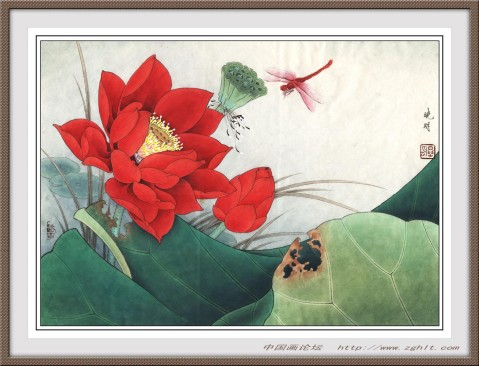 李晓明工笔绘画作品精选 - 天高.我翔 - 艺术世界