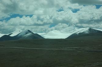 西藏风景(列车行进在青藏高原--8)2007年10月08日