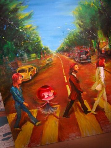 展览与新油画 - waitany8 - 宋洋的漫画世界