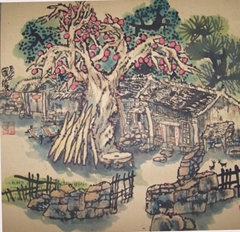 乡村记忆系列(十)2007/12/15 - 书画家罗伟 - 书画家罗伟的博客