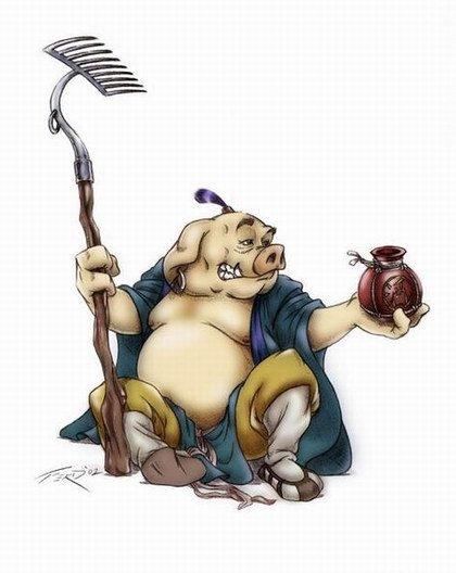 猪八戒:混世主义者的福乐偶像 - 张闳 - 张闳博客