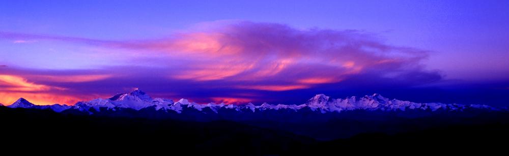 西藏高原全景 - 老任乐园  - 老任乐园