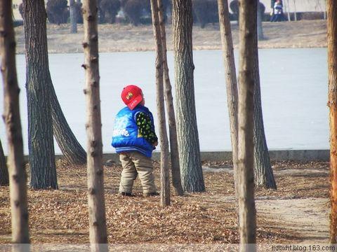 正月初四在南湖公园 - 海的微笑 - 海的微笑