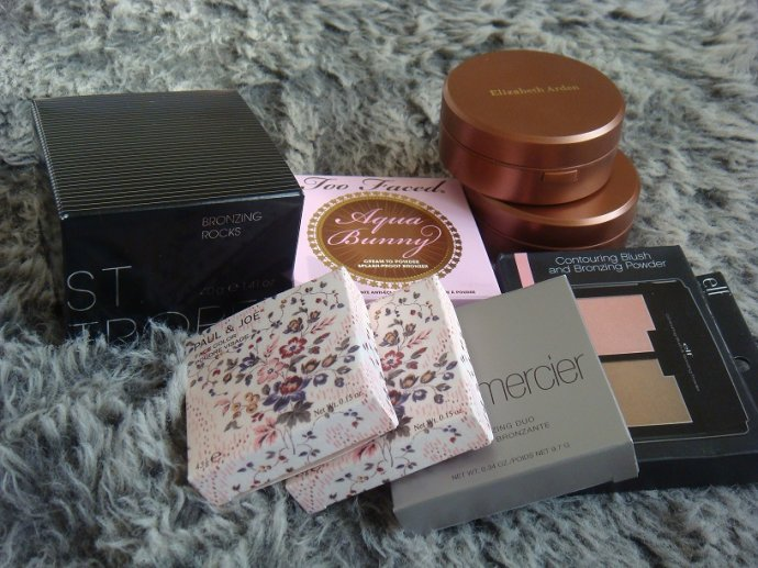 Paul  Joe, Laura Mercier 和 elf 雙色腮紅及 St. Tropez, Too Faced 和 Elizabeth Arden 修容粉 - 小住住 - 住住美妝瘦身分享 (網易版)