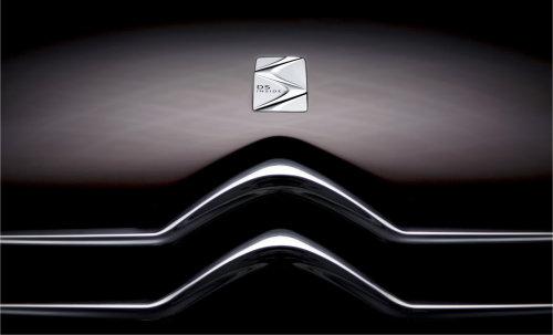 在传统双人形雪铁龙标志上方增加了DS标 】从图片上看,该车已高清图片