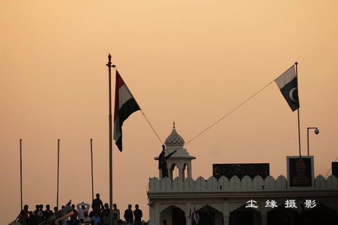 在印巴边界看降旗 - Y哥。尘缘 - 心的漂泊