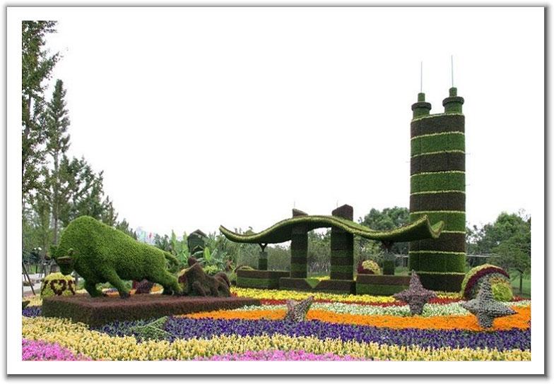 绝对漂亮的立体园林艺术 - 妙韵情缘 - 第一视觉