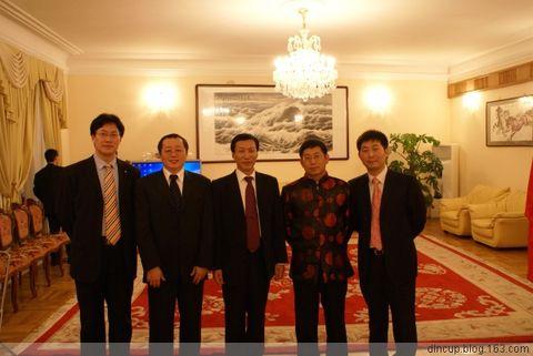 图片:中华人民共和国驻圣彼得堡总领馆新春招待会 - 大林哥 - 大林哥(水生) 博客