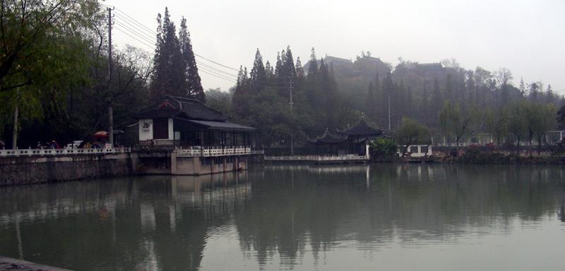 【原创】深秋润、扬游(三):雨中瘦西湖 - 语溪子 - 语溪子的博客