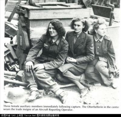 历史上真实的纳粹女兵的军旅生活照片 - 马洪涛 - 我的博客