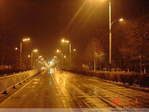 《原创》漂走陕北(3)沙漠驼城降春雪,榆林漫步明清街 - 水上漂 - 水上漂的博客