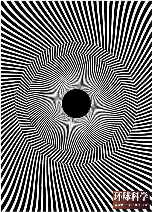 眼睛欺骗了你——欧普艺术中的动态幻觉 - 天蓝星少儿美术 - 天蓝星画室童真童趣的作品