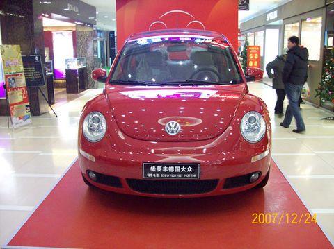 上海大众 甲壳虫 汽车高清图片