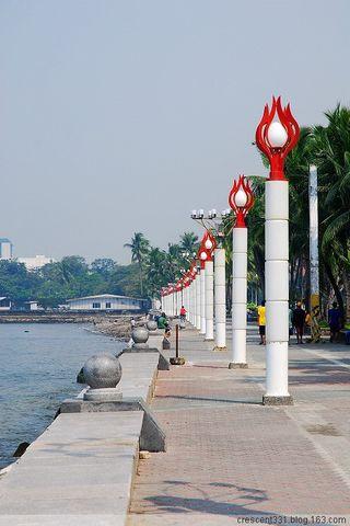菲一般的感觉-2008国庆菲律宾之行之(14)日落马尼拉湾(Manila Bay) - 紫藤秋水 - 紫藤秋水