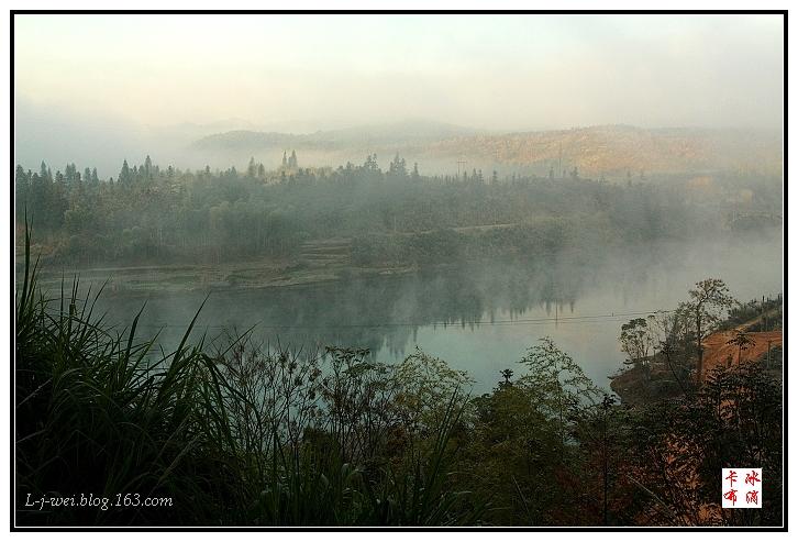 江西婺源行之雾锁长滩(原创摄影) - 冰滴卡布 - l-j-wei的个人主页